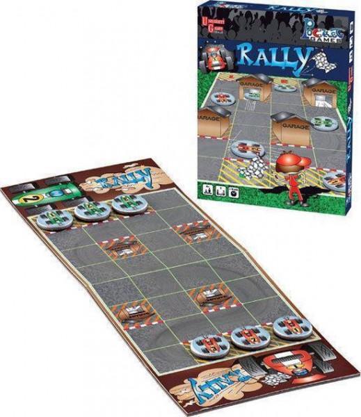 University games Rally magnetisch pocket spel.