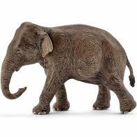 Schleich aziatische olifant vrouwelijk.