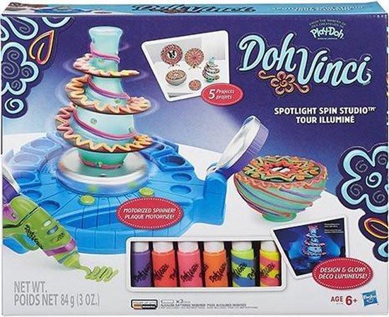 Doh vinci spotlight spin studio .design en glow.