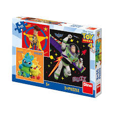 Dino Puzzel Toy Story 4 3 x 55