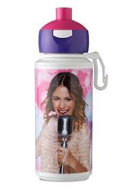Campus Drinkfles Pop-up - Violetta