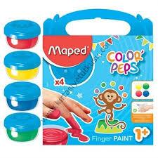 Maped mijn eerste vingerverf COLOR PEPS