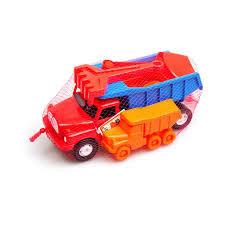 Dino toys tatra kiepwagen met zandspullen. 30 cm lang.