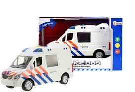 Toitoy Politiebus met licht en geluid.