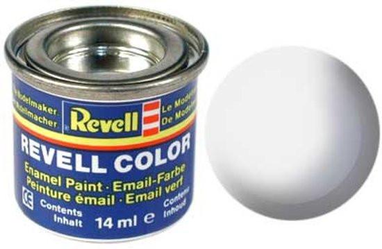 Revell verf voor modelbouw wit mat nummer 5