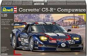 Revell Corvette cr-5 Compuware. plastic bouwmodel.
