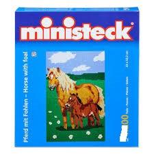 Ministeck paard met veulen 3500 stukjes.