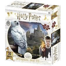 3D puzzel Harry potters uil Hedwig. 500 stukjes.