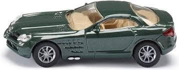 Siku auto Mercedes benz slr McLaren groen.