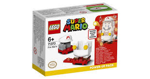 Lego Super mario power up pack fire Mario.