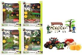 Tractor farmset met veel accessoires.