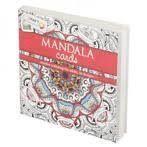 Mandala Cards Rood