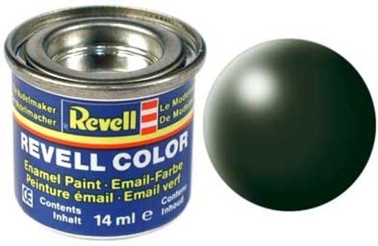Revell verf voor modelbouw zijdemat donkergroen nummer 363