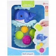 Badspeelgoed watermolen voor aan het badje.