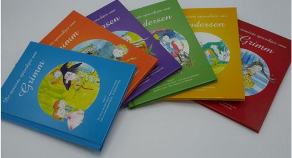 De mooiste sprookjes van Grimm 6 sprookjes boeken in 1 pakket.