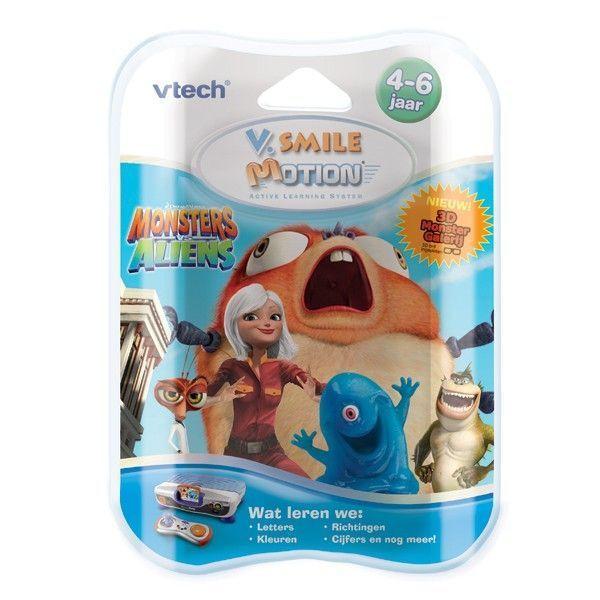 Vtech V.Smile Motion Game Monsters vs Aliens