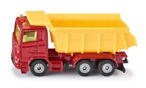 Siku vrachtwagen met kiepbak.