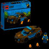 LEGO City Politiepatrouille Auto
