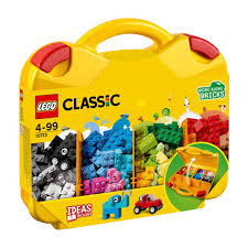 Lego classic bouwstenen in gele koffer. 10713