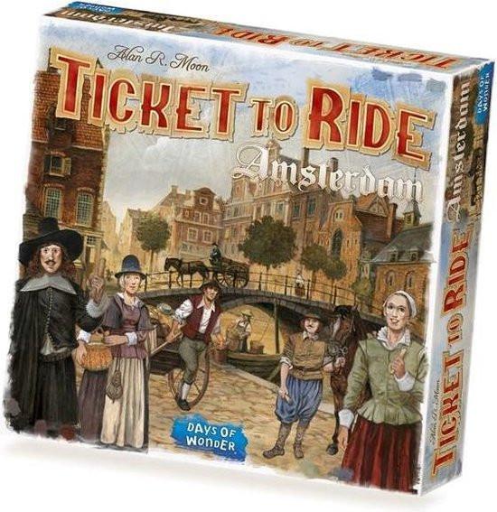 Ticket to ride Amsterdam ,days of wonder spel.