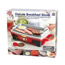 Playgo De luxe ontbijt set met kookplaat.incl.ontbijt.