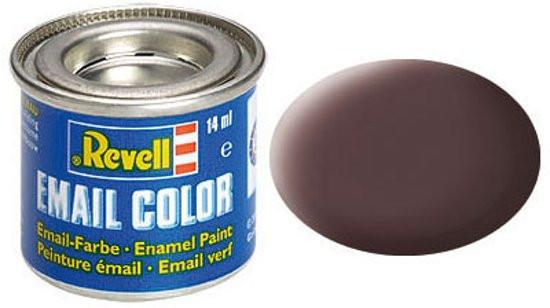 Revell verf voor modelbouw leder mat bruin nummer 84