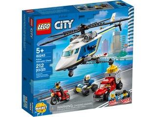 Lego City Politie achtervolging nr 60243