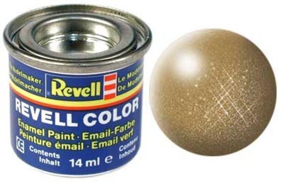 Revell verf voor modelbouw messing metallic nr 92