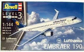 Revell Vliegtuig Lufthansa