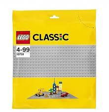 Lego grote grijze grondplaat.