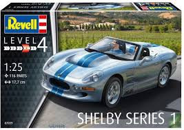 Revell - Shelby series 1 auto 07039