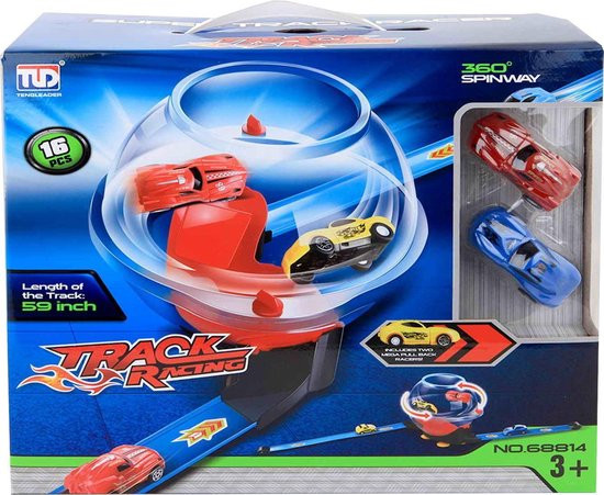 Super track racing in bol.