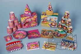 Party pack 6 personen meisjes