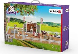 Schleich Horse Club 42338 Groot wedstrijd paarden toernooi.