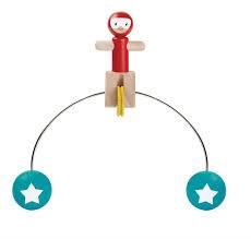 Plan Toys riding acrobat .