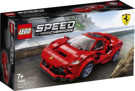 Lego Speed champions Ferrari F8 Tributo.