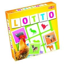 Tactic selecta lotto spel boerderij dieren.41449