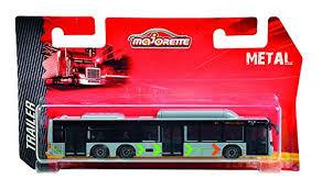 Majorette Stadsbus line 3 bus 15 cm lang.