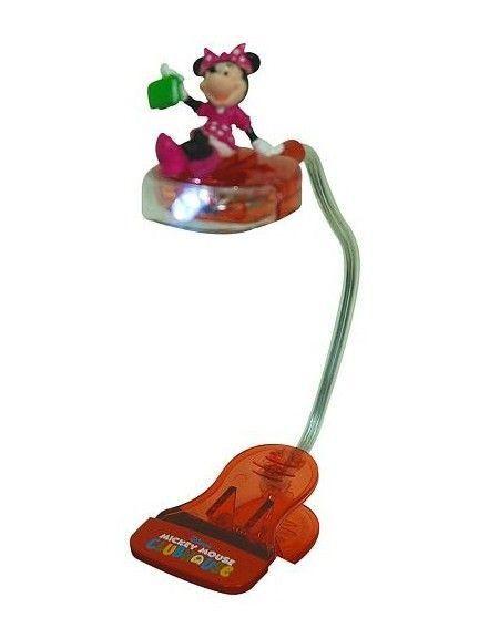 Leeslamp Minnie Mouse met Klem
