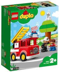 Lego duplo brandweer wagen. 10901