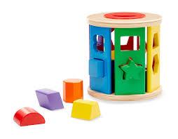 Melissa en dough vormen kubus 13 delig.