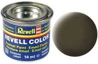 Revell verf voor modelbouw mat zwart groen nummer 40