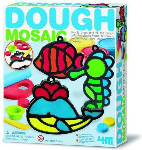 4M Dough mosaik decoratie maken met klei.