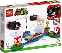 Lego Super Mario expansion set Boomer Bill Barrage.