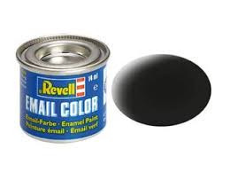 Revell verf mat zwart kleur nummer 8.