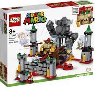 Lego Mario Expansion set Bowser's Castle Boss Battle.