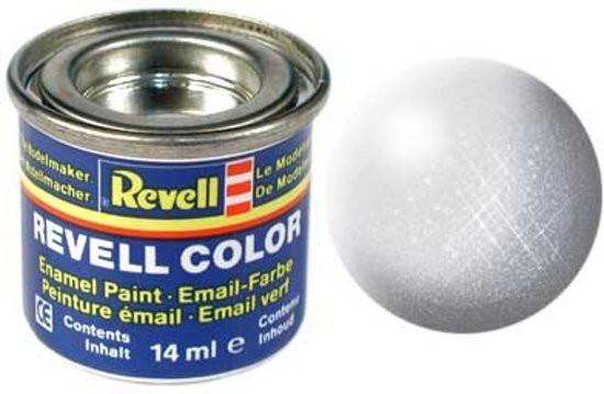 Revell verf voor modelbouw metallic grijs nummer 99