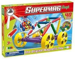 Supermag maxi wheels 40 delige magnetenset.