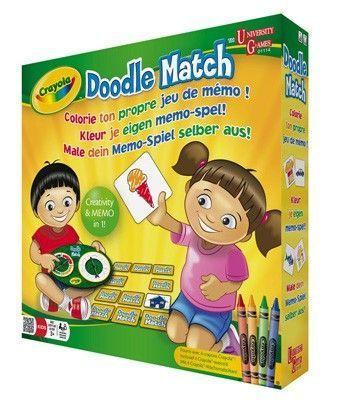 Crayola Doodle Match