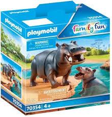 Playmobil Nijlpaarden 2 stuks 70354